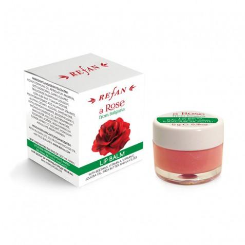 Balsam de buze Roza din Bulgaria