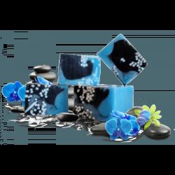 Sapun cu glicerina fabricat manual BLUE ORCHID, 1 kg