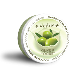 Crema - unt de corp Refan Olive and yogurt