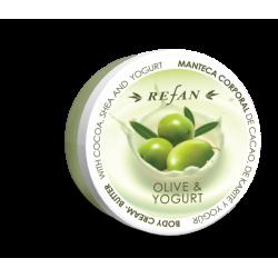 Crema - unt de corp Refan Olive and yogurt