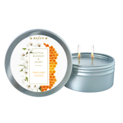 Candela aromaterapie bumbac si miere