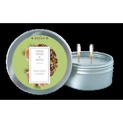 Lumanare parfumata cedar wood/spices
