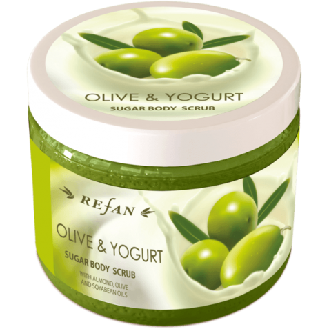 Exfoliant de corp Olive and Yogurt