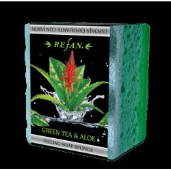 Sapun peeling Aloe vera si Ceai verde