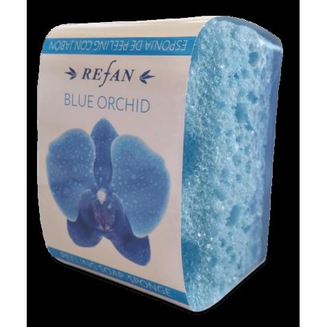 Sapun cu burete Blue Orchid