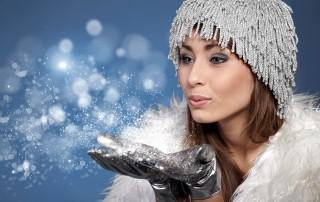 Cosmetice cu aroma de iarna